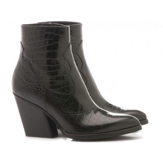 Mivida Women's Ankle Boots Australia Black 6658