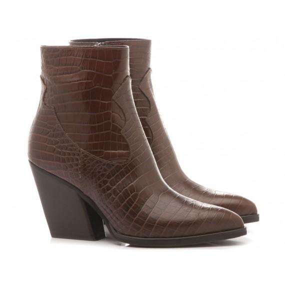 Mivida Women's Ankle Boots Australia Brown 6658