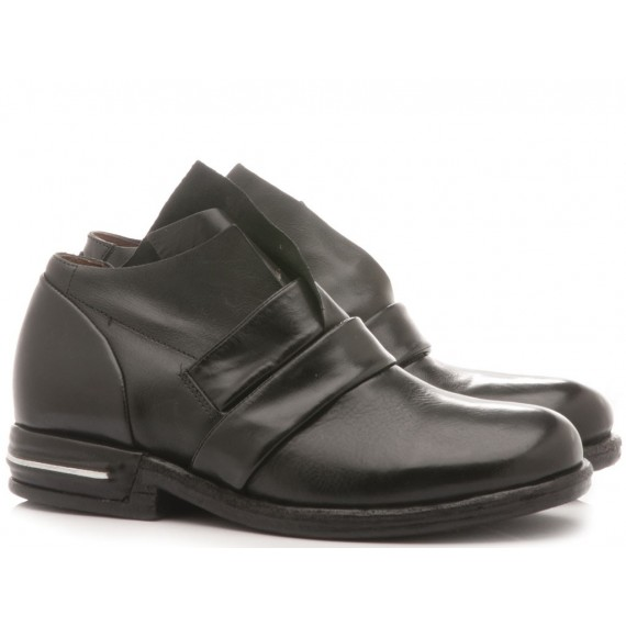 A.S. 98 Women's Shoes Leather Black 516108