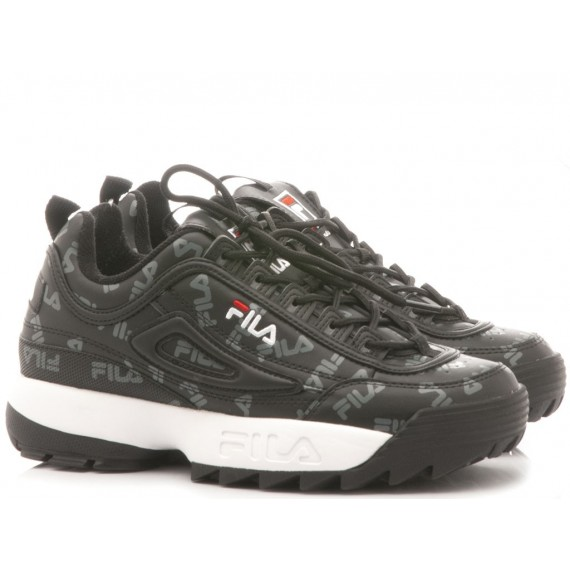Fila Sneakers Donna Disruptor Logo Low Wmn Black