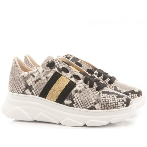 Stokton Sneakers Donna Pelle Pitonata 650-D-FW19-U