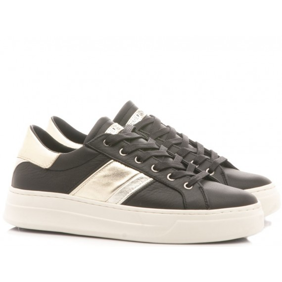 Crime London Sneakers Basse Donna Sonic Nero