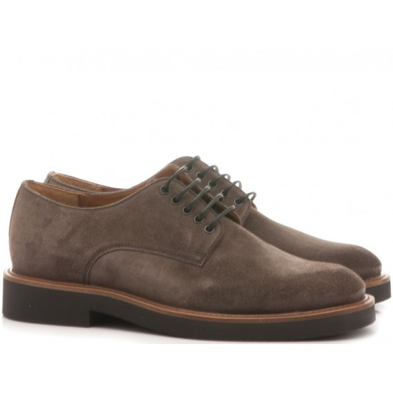 Frau Men's Shoes Leather Waxi Taupe