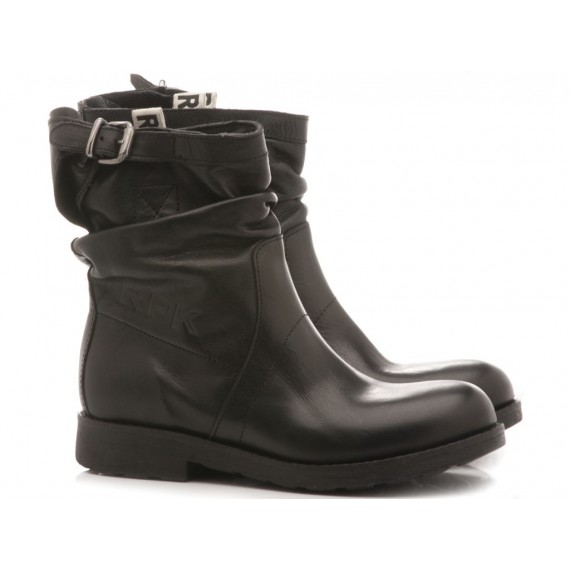 RPK Women's Boots Black Leather BK4