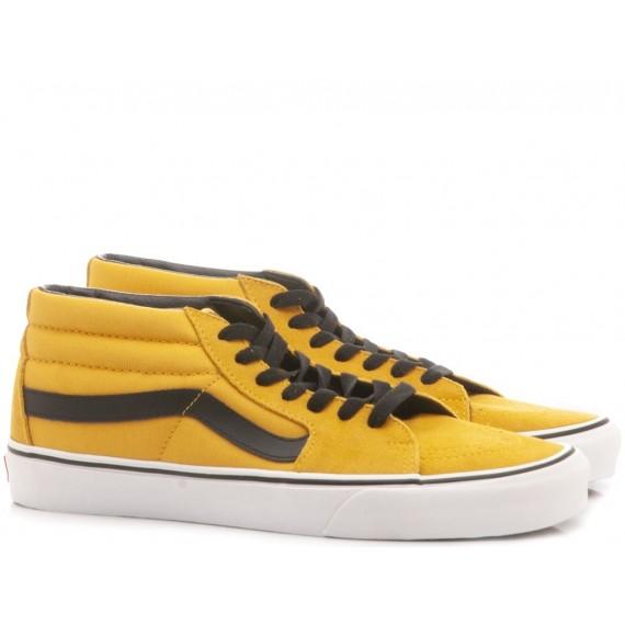 Vans Sneakers Uomo Sk8-Hi Lite Black-White VN0A2Z5YIJU