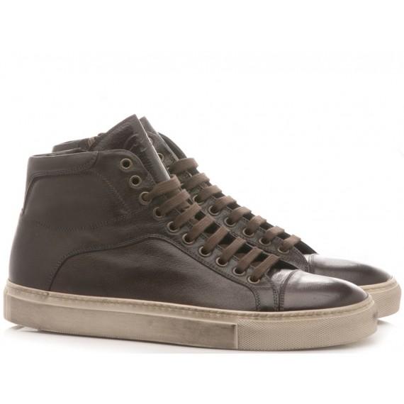 Corvari Scarpe-Sneakers Uomo Pelle Honey Blu Punzonato 6704