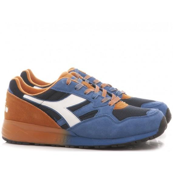 Diadora Men's Sneakers N902 Faded Blu