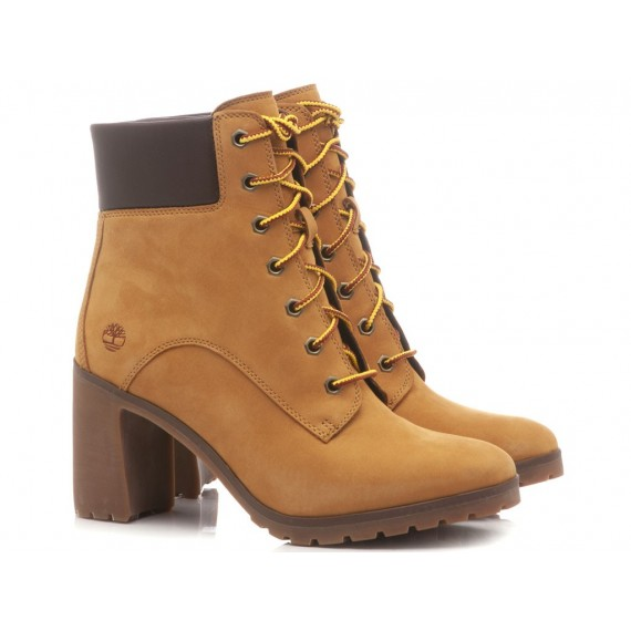 Timberland Women's Ankle Boots Leather Honey
