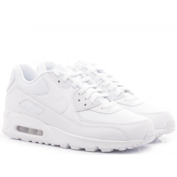 Nike Men's Sneakers Air Max 90 Essential White
