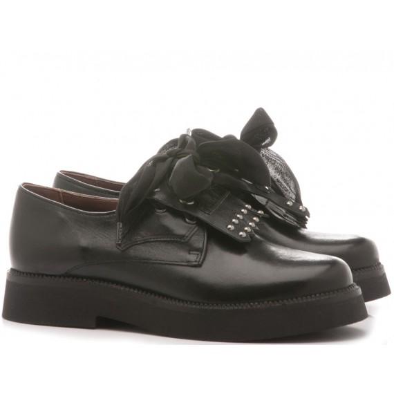 Mjus Women's Shoes Leather Black 565110