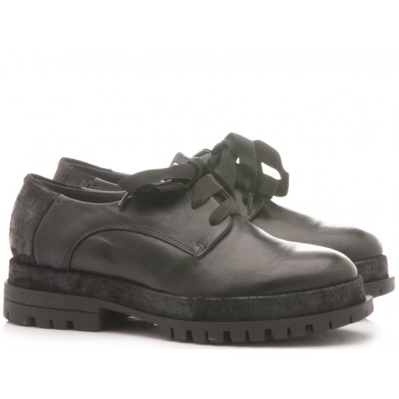 Lili Mill Women's Shoes Leather Black