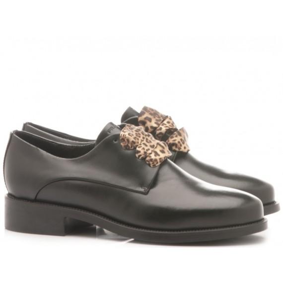 Frau Women's Shoes Leather Black 9821