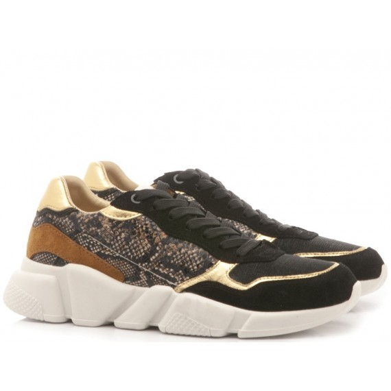 Serafini Sneakers Donna Oregon Black