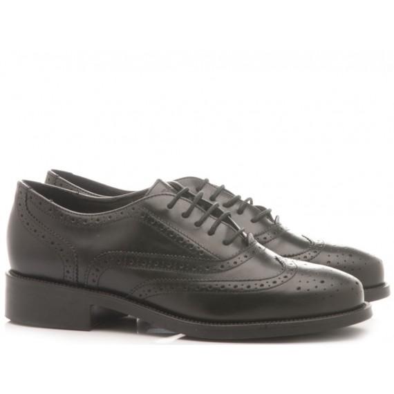 Frau Women's Shoes Leather Black 9938