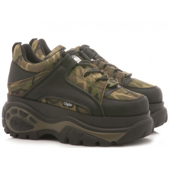Buffalo London Sneakers Donna Camouflage