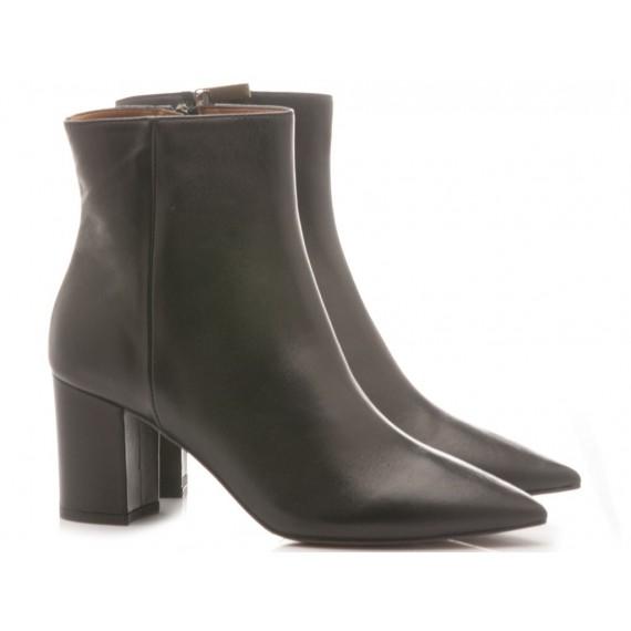 Les Autres Women's Ankle Boots Leather Black 1359