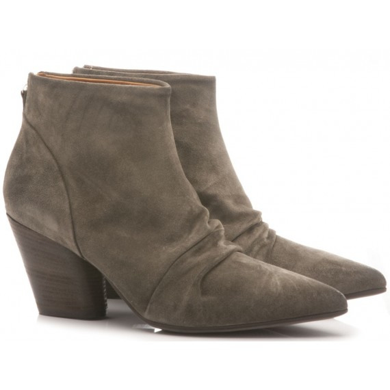 MAT:20 Women's Ankle Boots Suede Grey 5600
