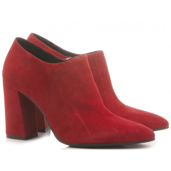 Adele Dezotti Women's Ankle Boots AX1704X Red