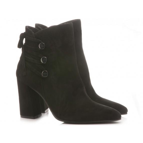 Adele Dezotti Women's Ankle Boots AX1803G Black