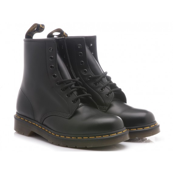 Dr. Martens Alte Black-Noir Pelle Smooth 1460