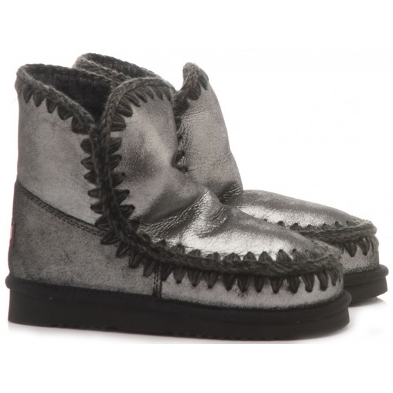 MOU Women's Ankle Boots Eskimo 18 Black