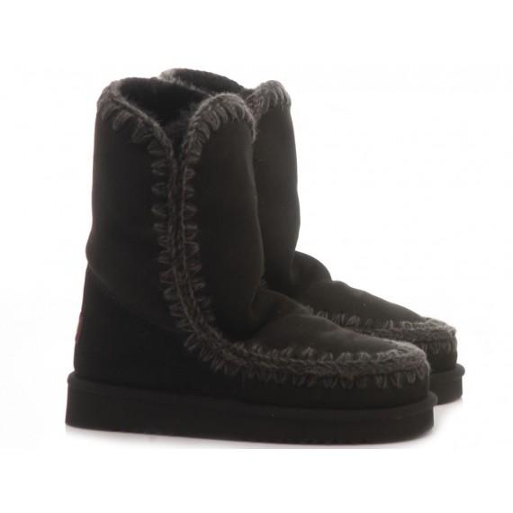 MOU Women's Ankle Boots Eskimo 24 Black