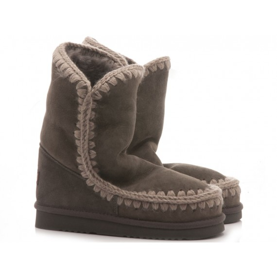 MOU Women's Ankle Boots Eskimo 24 Charcoal