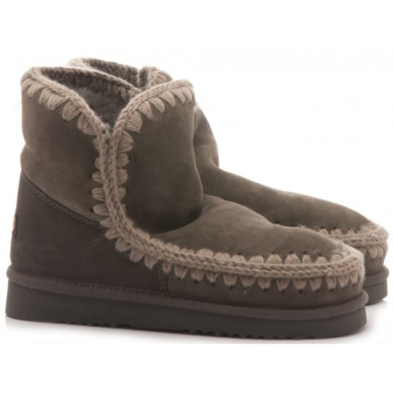 MOU Women's Ankle Boots Eskimo 18 Charcoal