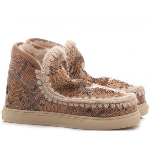 MOU Stivaletti Donna Eskimo Sneaker Pitone