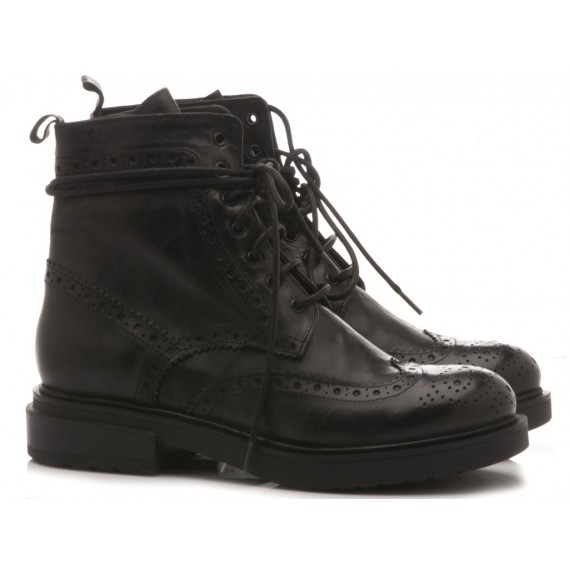 History 541 Women's Ankle Boots ILela02 Black