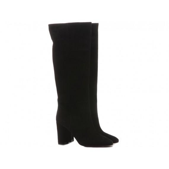 Les Autres Stivali Donna Camoscio Nero 2522