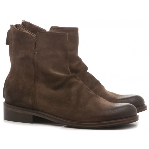 History 541 Women's Ankle Boots Clara03 Brown