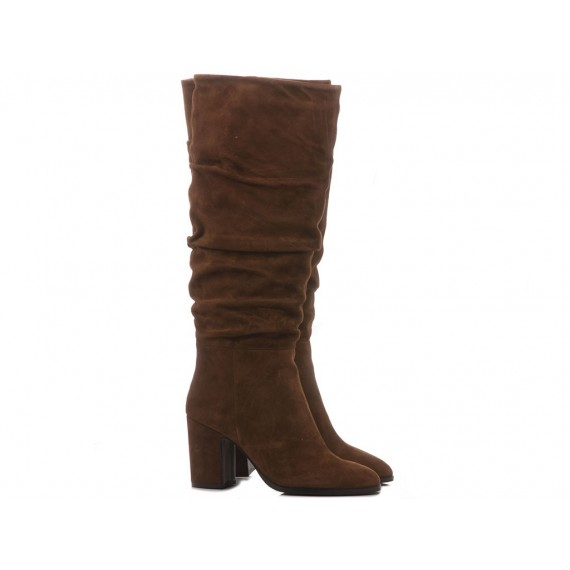 Adele Dezotti Women's Ankle Boots AX0701X Brown