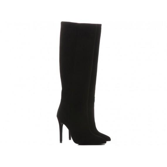 Mivida Women's Boots Suede Black 6872