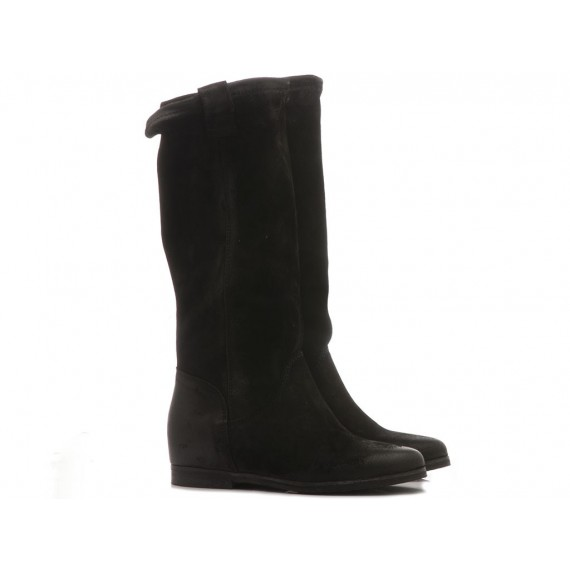 Metisse Women's Boots Black Leather IN63