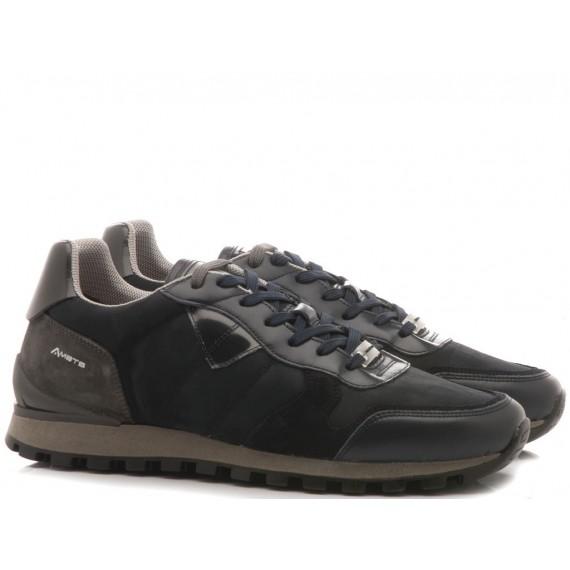 Ambitious Sneakers Uomo Camoscio Navy 8061-T434AM