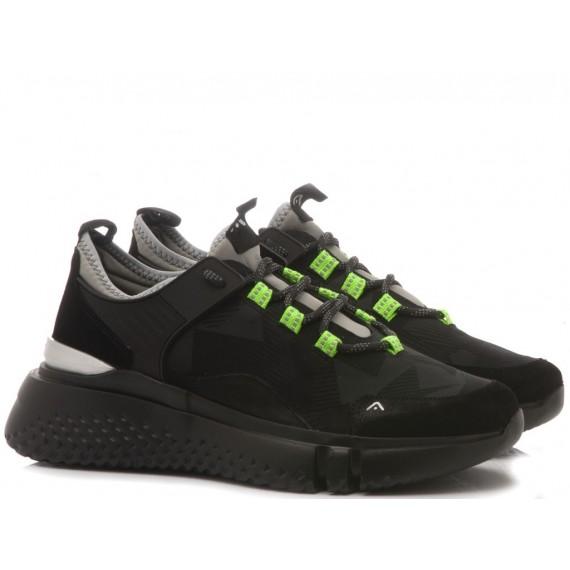 Ambitious Sneakers Uomo Camoscio Black 9805-1321AM