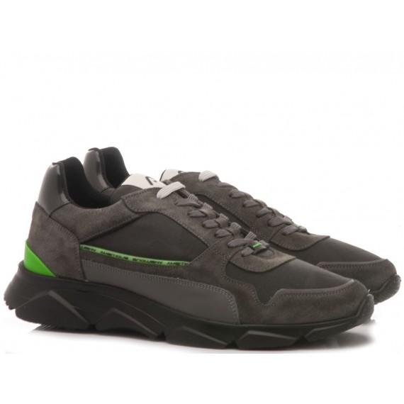 Ambitious Sneakers Uomo Camoscio Grigio 9509A-1301AM