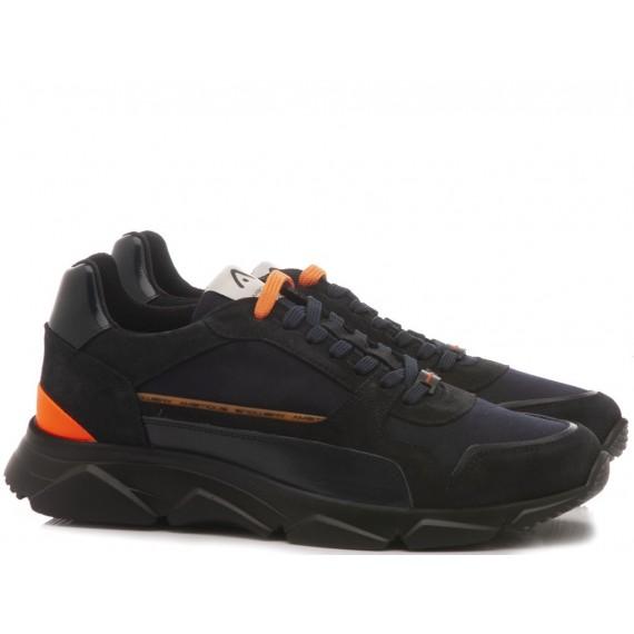 Ambitious Sneakers Uomo Camoscio Navy 9509A-4846AM