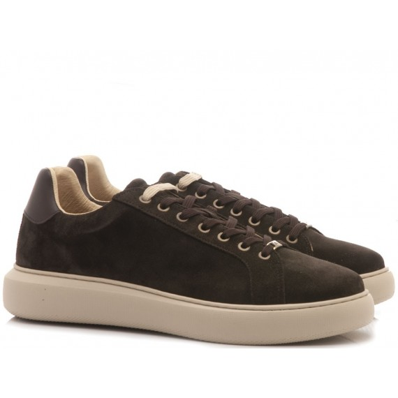 Ambitious Men's Sneakers Suede Ebony 8320-1325AM