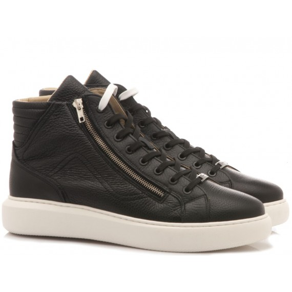 Ambitious Sneakers Uomo Pelle Black 10058-4232AM