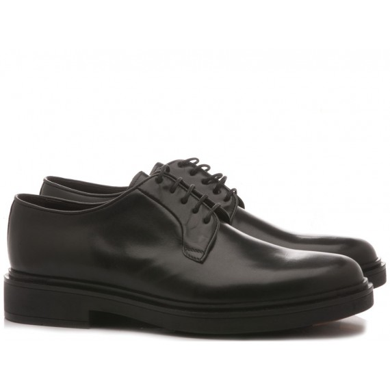 Brecos Men's Classic Shoes Leather Black 9167I19
