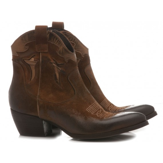 Concept Women's Ankle Boots T-304 Brown