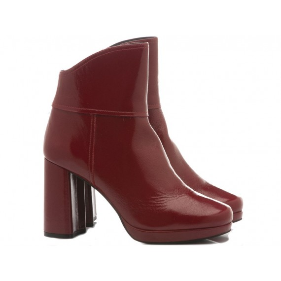 Adele Dezotti Women's Ankle Boots AX2002X Red