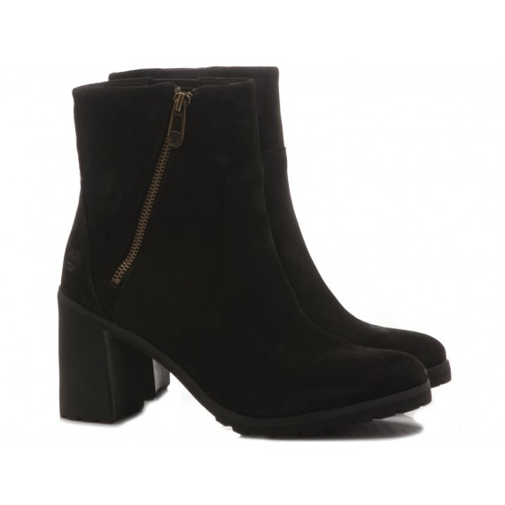 Timberland Women's Ankle Boots Leather Black