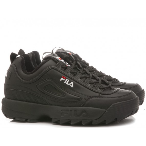 Fila Men's Sneakers Disruptor Low Black