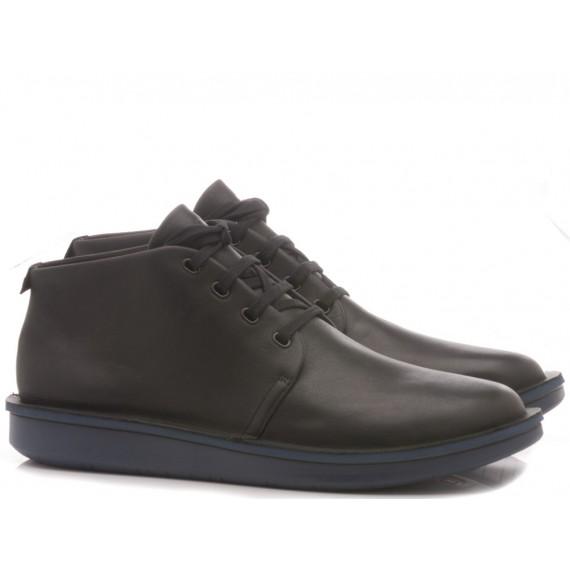 Camper Men's Ankle Boots Leather Black
