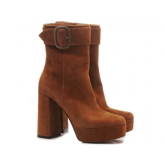 Les Autres Women's Ankle Boots Suede Rodeo 2602