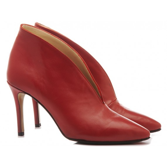 L'Arianna Women's Ankle Boots Siviglia Red TR8008