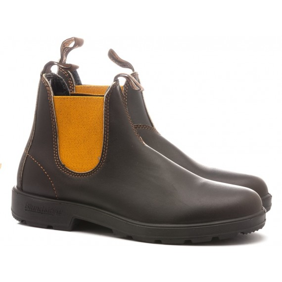 Blundstone Men's Ankle Boots Brown Mustard 1919
